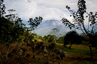 Arenal Volcano from Arenal Lodge, Costa Rica